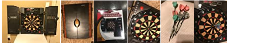Highly recommended electronic dartboard